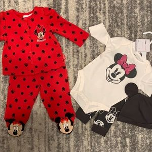 Two Mini Mouse Outfits